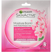 Garnier SkinActive Super Hydrating Sheet Mask, Glow-Boosting