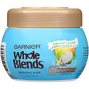 Garnier Whole Blends Hydrating Mask with Coconut Water & Vanilla Milk extracts