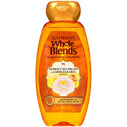Garnier Whole Blends Shampoo with Moroccan Argan & Camellia Oils Extracts