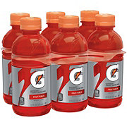 Gatorade Fruit Punch Thirst Quencher 12 oz Bottles