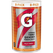 Gatorade G Series Fruit Punch Thirst Quencher Powder Packs