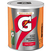 Gatorade G Series Thirst Quencher Powder Fruit Punch Drink Mix