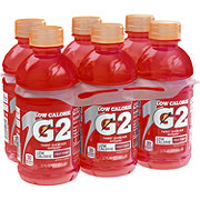 Gatorade G2 Low Calorie Fruit Punch Thirst Quencher 12 oz Bottles