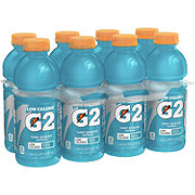 Gatorade G2 Low Calorie Glacier Freeze Thirst Quencher 20 oz Bottles