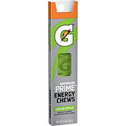 Gatorade Prime Green Apple Energy Chews