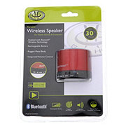Gear Head Portable Bluetooth Wireless Speaker, Red