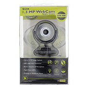 Gear Head Quick 1.3 MP WebCam with Night Vision