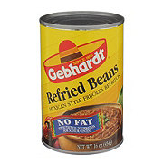 Gebhardt Mexican Style No-Fat Refried Beans