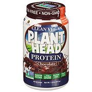 Genceutic Naturals Plant Head Protein Powder, Chocolate