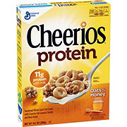 General Mills Cheerios Protein Oats & Honey Cereal