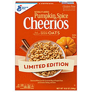 General Mills Cheerios Pumpkin Spice Cereal