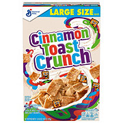 General Mills Cinnamon Toast Crunch Cereal Large Size