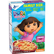 General Mills Dora The Explorer Cereal Family Size