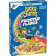 General Mills Lucky Charms Frosted Flakes Cereal