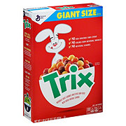 General Mills Trix Giant Size Cereal