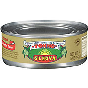 Genova Tonno Solid Light Premium Yellowfin Tuna In Olive Oil