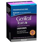 GenTeal Tears Preservative Free Moderate Lubricant Eye Drops