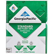 Georgia-Pacific Standard Recycled 8.5x11 in Multipurpose Paper