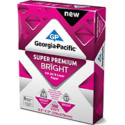 Georgia-Pacific Super Premium Bright Ink Jet and Laser Paper 97 Bright 300 Sheets