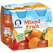 Gerber 100% Mixed Fruit Juice