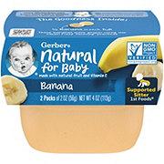 Gerber 1st Foods Banana 2 pk