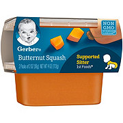 Gerber 1st Foods Butternut Squash 2 pk