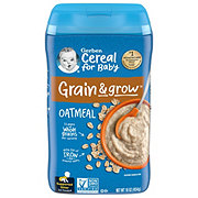 Gerber 1st Foods Cereal Single Grain Oatmeal