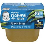 Gerber 1st Foods Green Bean 2 pk