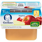 Gerber 1st Foods Nature Select Apples 2 pk