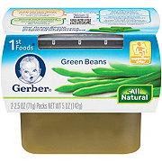 Gerber 1st Foods Nature Select Green Beans 2 pk