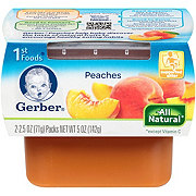 Gerber 1st Foods Nature Select Peaches 2 pk
