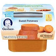 Gerber 1st Foods Nature Select Sweet Potatoes 2 pk