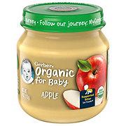 Gerber 1st Foods Organic Apple