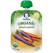 Gerber 1st Foods Organic Mixed Carrots