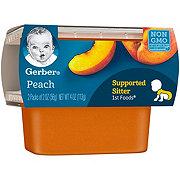 Gerber 1st Foods Peach 2 pk