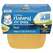 Gerber 1st Foods Pear 2 pk