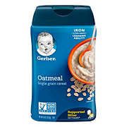 Gerber 1st Foods Single Grain Oatmeal Cereal