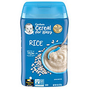Gerber 1st Foods Single Grain Rice Cereal