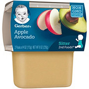 Gerber 2nd Foods Apple Avocado 2 pk