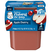Gerber 2nd Foods Apple Cherry 2 pk