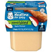Gerber 2nd Foods Apple Chicken Dinner 2 pk
