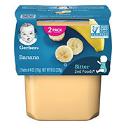 Gerber 2nd Foods Banana  2 pk