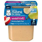 Gerber 2nd Foods Banana Apple Pear  2 pk