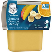 Gerber 2nd Foods Banana Orange Medley 2 pk