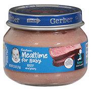 Gerber 2nd Foods Beef & Gravy