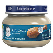 Gerber 2nd Foods Chicken and Gravy