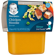 Gerber 2nd Foods Chicken Noodle Dinner  2 pk