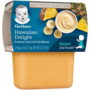 Gerber 2nd Foods Hawaiian Delight 2 pk