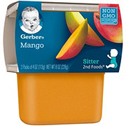 Gerber 2nd Foods Mango 2 pk