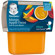 Gerber 2nd Foods Mango Apple Twist  2 pk